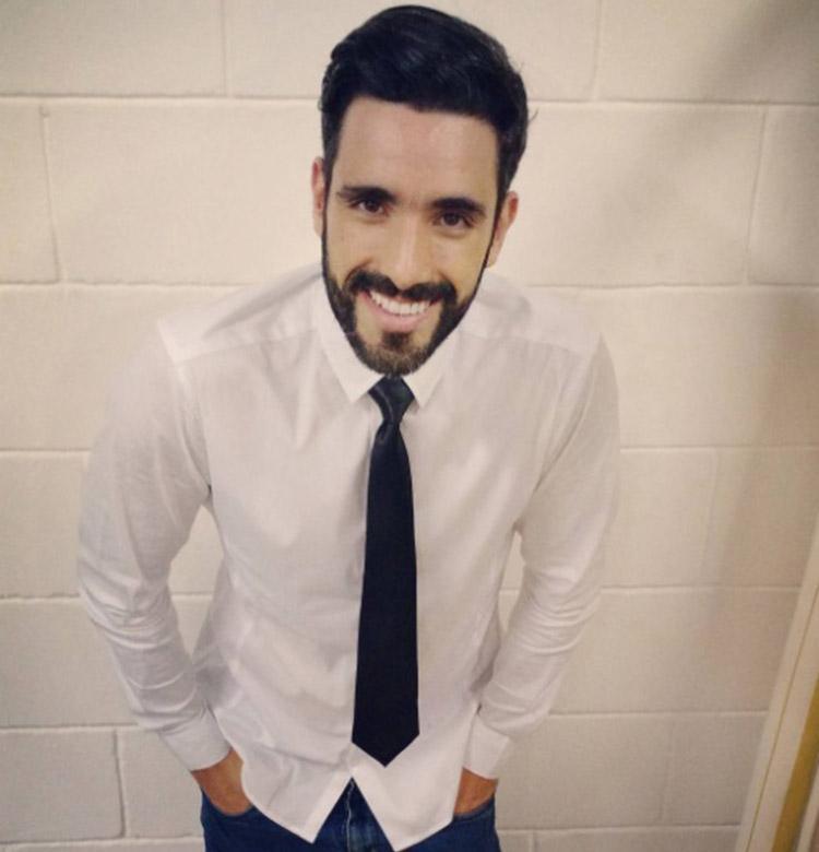 Luiz Menezes ficou inteiramente despido no programa desta quinta-feira, 9 - Foto: Reprodução | Instagram