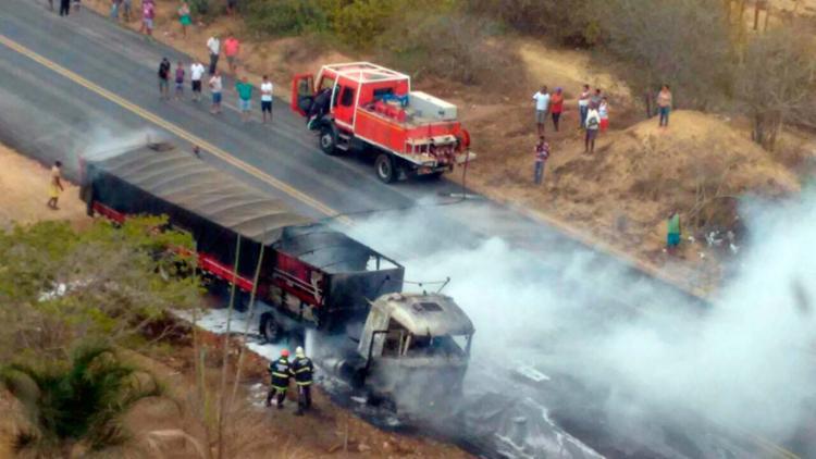 Incêndio foi debelado pelo Corpo de Bombeiros - Foto: Divulgação | CBMBA