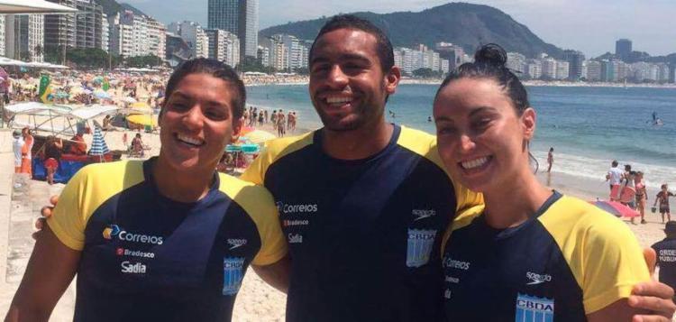Os brasileiros estreia no circuito neste domingo, 5 - Foto: CBDA | Divulgação