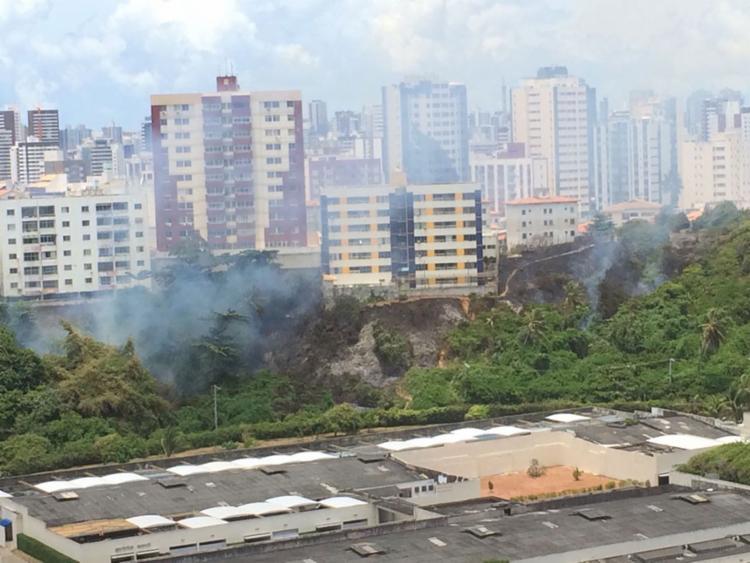 As causas do incêndio não foram informadas - Foto: Cidadão Repórter | WhatsAap