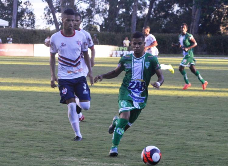 Raylan (foto) marcou o terceiro gol do Conquista - Foto: Vitória da Conquista | Divulgação
