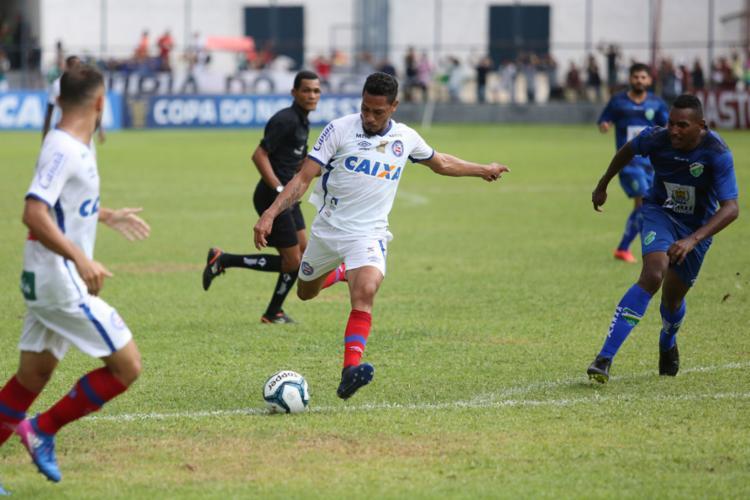 Ataque tricolor não conseguiu furar a defesa do Altos-PI - Foto: Benonias Cardoso | Futura Press | Estadão Conteúdo