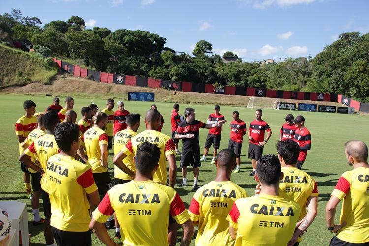 Treinador Argel cobra evolução da equipe no jogo desta quinta-feira, 2 - Foto: Moysés Suzart l EC Vitória