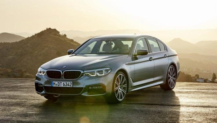 BMW Série 5 foi reestilizado - Foto: Divulgação BMW