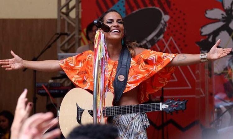Ju Moraes gravou o álbum no Parque da Cidade - Foto: Divulgação