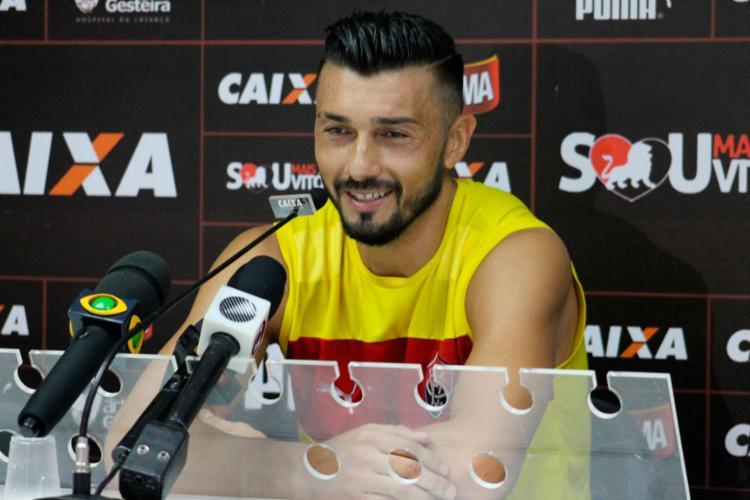 Argentino disse que está ciente da expectativa dos torcedores em cima dele - Foto: Maurícia da Matta | EC Vitória