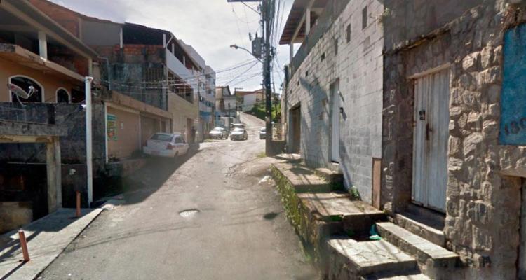 Crime ocorreu na Paulo Afonso, neste domingo - Foto: Reprodução | Google Street View