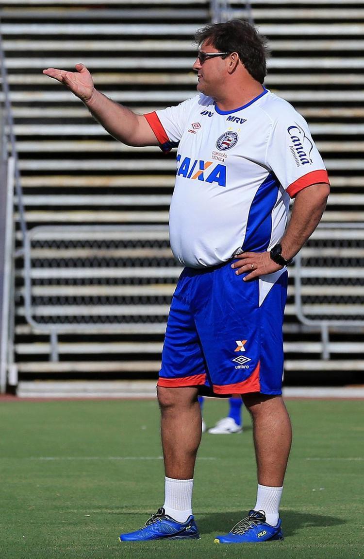 Guto não falou sobre rodízio desde final do último jogo - Foto: Felipe Oliveira l EC Bahia