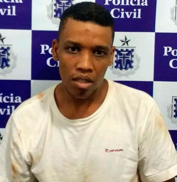 Antônio dos Reis de Jesus, 30 anos, foi preso nesta terça-feira - Foto: Divulgação   Polícia Civil
