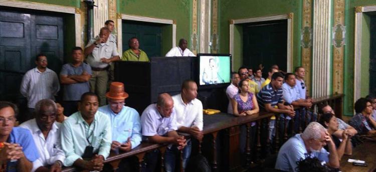 Taxistas lotaram as galerias da Câmara - Foto: Luan Santos   Ag. A TARDE
