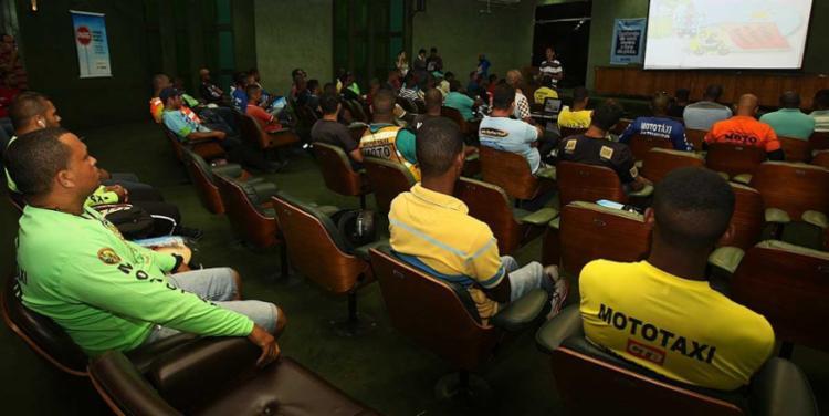 Vagas foram definidas pelo sindicato dos mototaxistas - Foto: Elói Corrêa | GovBa