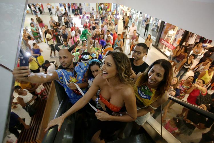 Daniela escolhe shopping para anunciar atrações - Foto: Raul Spinassé l Ag. A TARDE