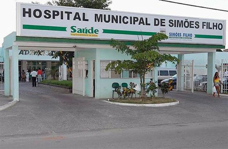 Vítima está internada em Hospital Municipal de Simões Filho - Foto: Reprodução