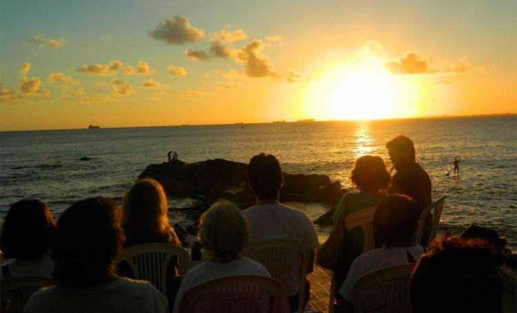 Programa incentiva contemplação do pôr do sol - Foto: Helena Cristina | Divulgação