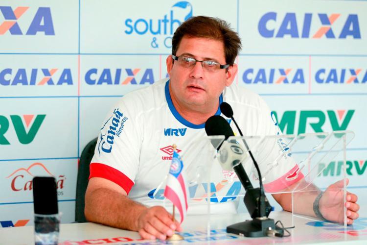 Guto criticou o regulamento da Copa do Brasil - Foto: Felipe Oliveira | EC Bahia