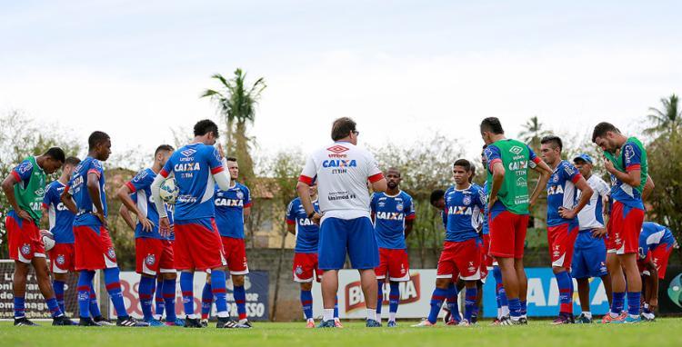 Guto lembrou dificuldades que terá na partida em Aracaju - Foto: Felipe Oliveira l EC Bahia