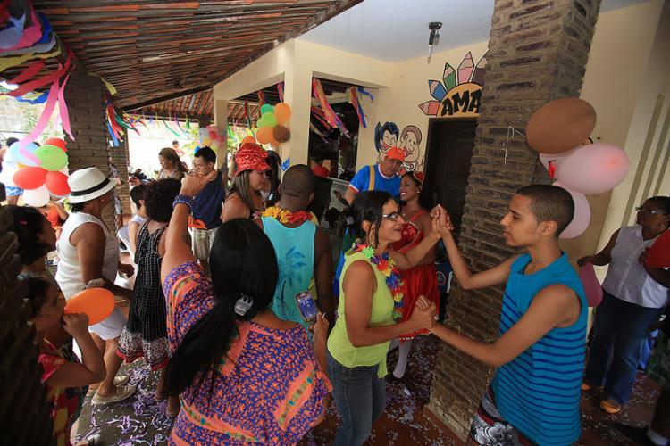 Alegria na festa da Associação de Amigos do Autista - Foto: Joá Souza l Ag. A TARDE