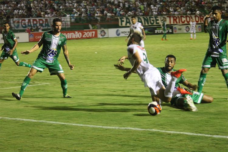 O Touro do Sertão fez valer o mando de campo e venceu mais uma no Estadual - Foto: Cristiano Alves l Ascom Fluminense