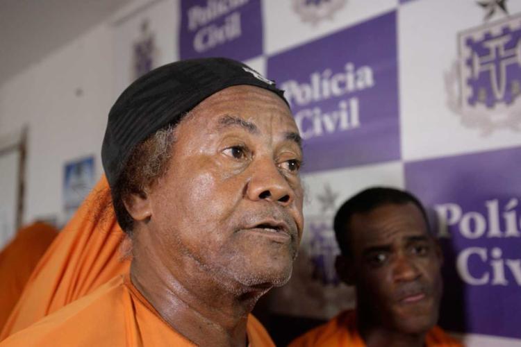 Preso, Raimundo Alves de Souza, o Ravengar, nega ter voltado a traficar drogas - Foto: Lúcio Távora | Ag. A TARDE