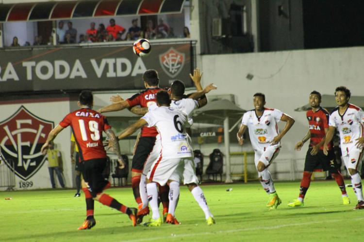 No último jogo, o Vitória bateu o Flamengo de Guanambi - Foto: Maurícia da Matta   EC Vitória
