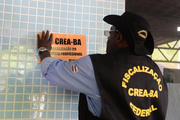 Fiscalização do Crea-BA prossegue até o fim da folia - Foto: Divulgação l Ascom Crea-BA