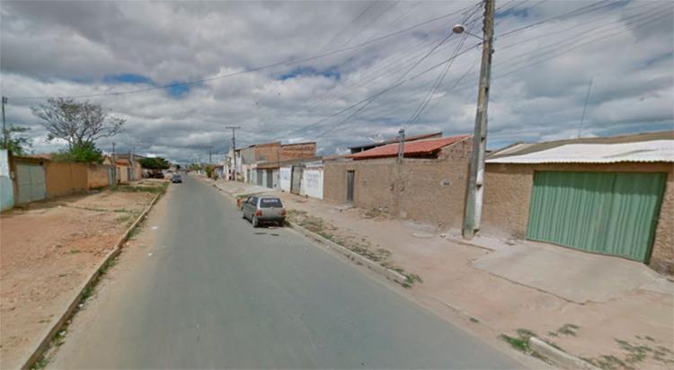 O crime aconteceu na rua Lajedinho, no bairro Kadija, em Vitória da Conquista - Foto: Reprodução | Google Maps