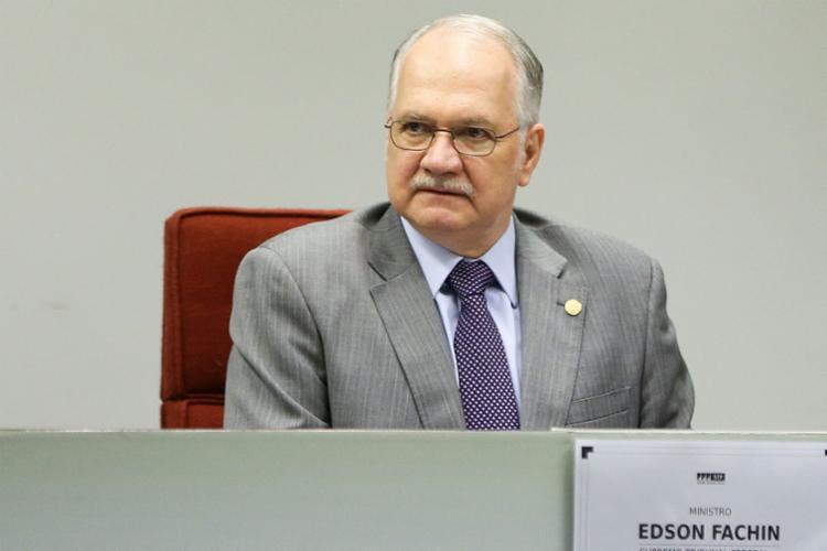 Fachin comentou que o Supremo vai discutir a questão - Foto: Marcelo Camargo | Ag. Brasil