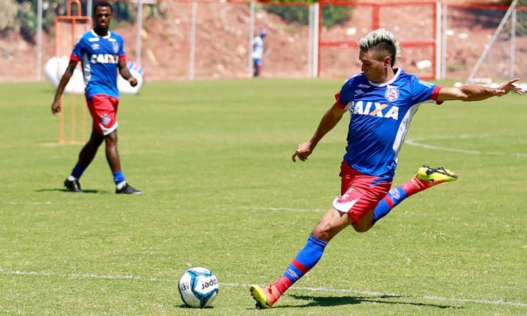 Juninho é um dos destaques do Bahia - Foto: Felipe Oliveira | EC Bahia | Divulgação