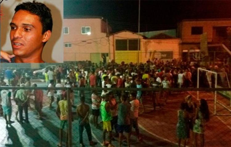 Criança e músico também foram atingidos por tiros - Foto: Reprodução | Blog Braga