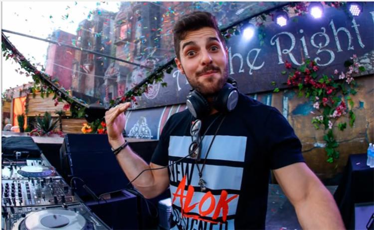 DJ Alok alcançou 100 milhões de audições no Spotify - Foto: Reprodução | YouTube