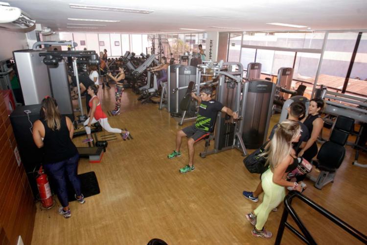 Para funcionar, academia deve ter aparelhos bem conservados - Foto: Luciano da Matta | Ag. A TARDE