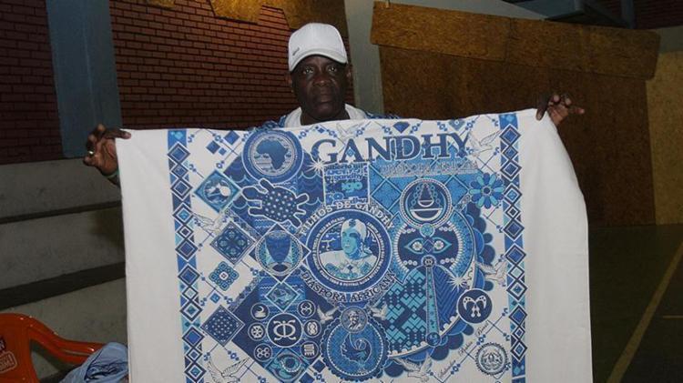 Indumentária do afoxé Filhos de Gandhy - Foto: Margarida Neide l Ag. A TARDE