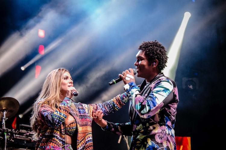 A cantora Millane Hora dividia os vocais da Timbalada com Denny - Foto: Magali Moraes | Divulgação