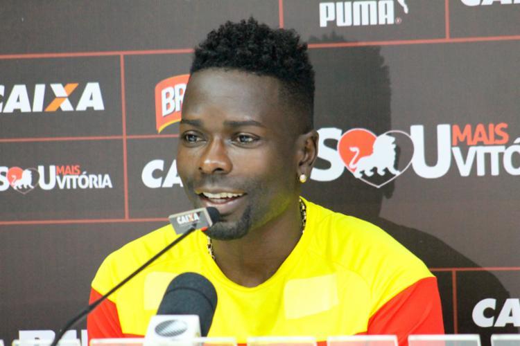 Kanu falou sobre o gol marcado que garantiu o triunfo diante do Bahia de Feira - Foto: Maurícia da Matta | EC Vitória