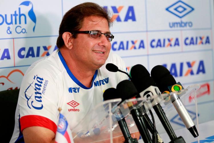 O auge de Guto Ferreira no Bahia foi o título do Nordestão - Foto: Felipe Oliveira   EC Bahia