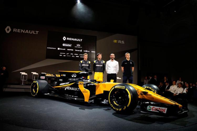 A equipe apresentou o novo carro nesta terça - Foto: Reprodução | Twitter | Renault Sport F1