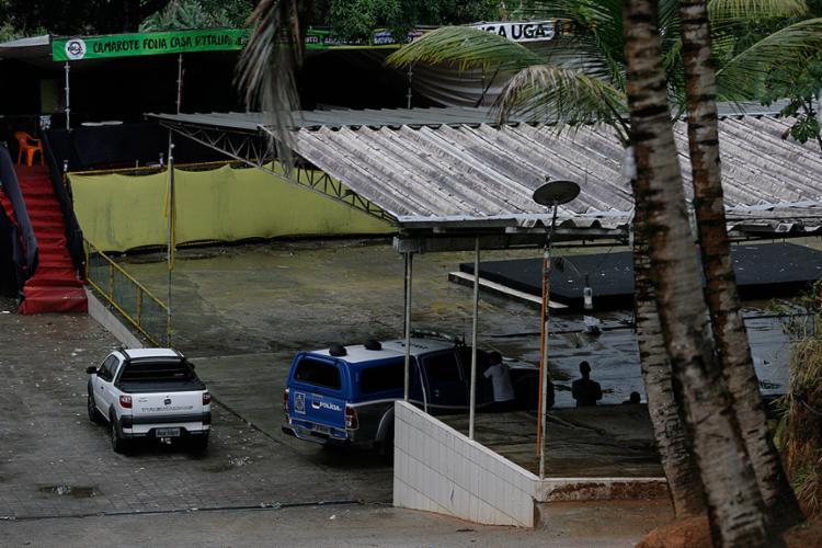A linha de investigação do DHPP considera que crime ocorreu dentro da casa de show - Foto: Edilson Lima l Ag. A TARDE