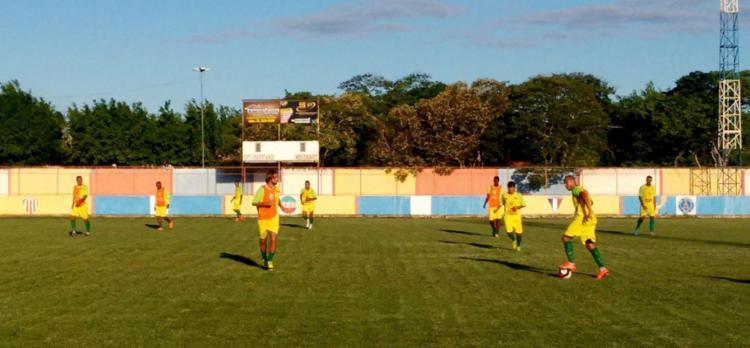 O time se preparando para a estreia no Baianão - Foto: Divulgação   Fluminense de Feira FC