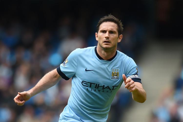 Lampard teve passagem pelo City antes de se aposentar - Foto: Paul Ellis | AFP