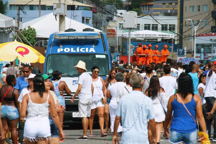 Roubos aconteceram durante o festejo a Iemanjá - Foto: Divulgação | SSP