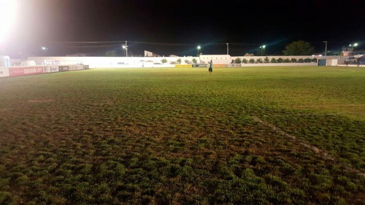 O gramado do Valfredão antes da partida de quarta-feira - Foto: EC Bahia | Divulgação
