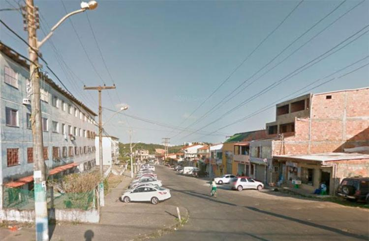 Crime aconteceu na rua Colina Azul - Foto: Reprodução | Google Maps