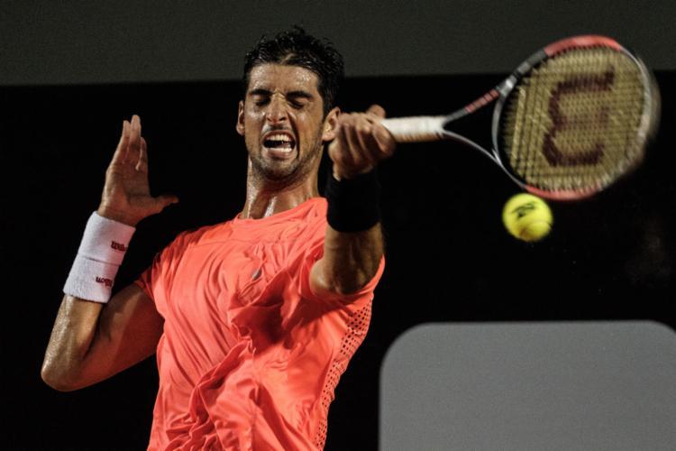 Bellucci bateu o japonês número 5 do ranking da ATP - Foto: Yasuyoshi Chiba | AFP