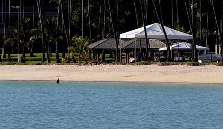 Base da Marinha é constantemente usada pelos presidentes da República para descanso durante feriados prolongados - Foto: Lúcio Távora | Ag. A TARDE