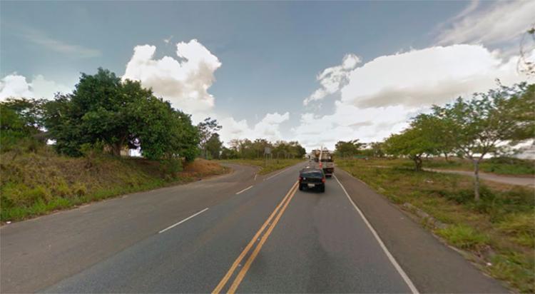 O acidente aconteceu próximo ao Parque Nacional e Histórico do Monte Pascoal - Foto: Reprodução | Google Maps