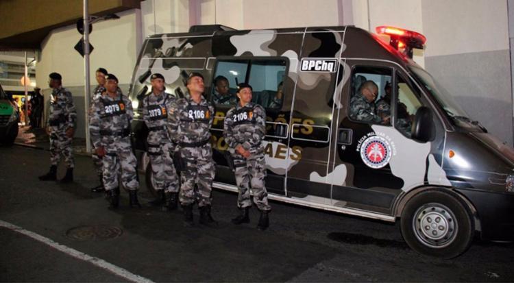 Suspeitos de roubo e furto foram presos em flagrante - Foto: Jorge Cordeiro | Divulgação