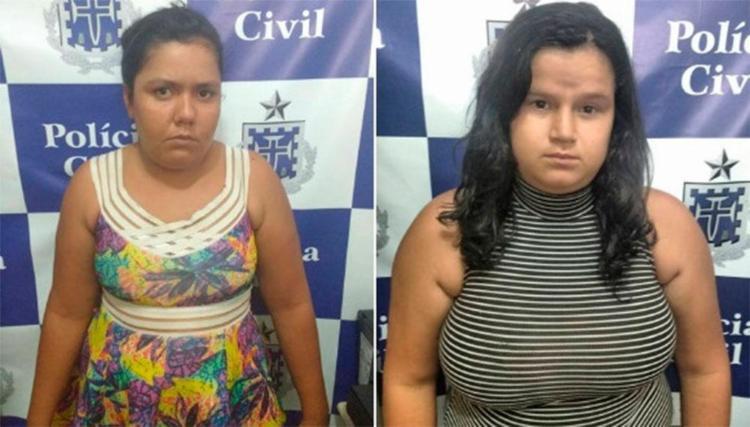 Mulheres foram autuadas por abandono e maus-tratos dos filhos - Foto: Divulgação | Polícia Civil