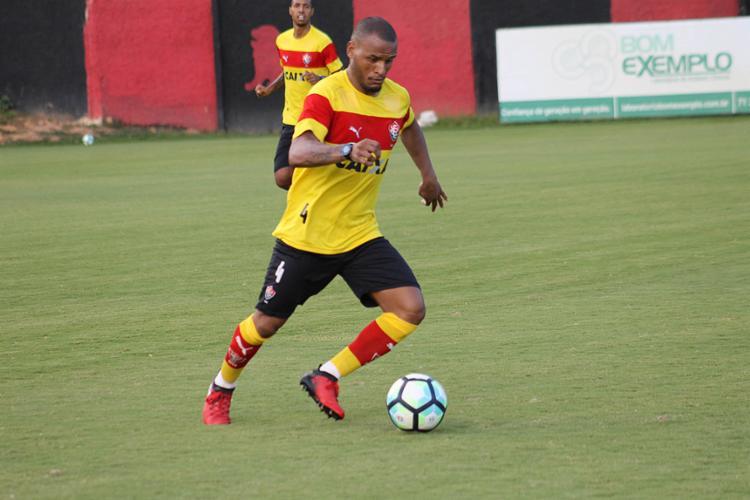 Patric ainda não entrou em campo em 2017; estava encostado no Galo - Foto: Maurícia da Matta l EC Vitória l Divulgação