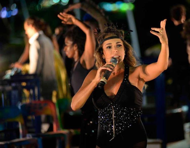 Ofensas começaram após Daniela interromper desfile próximo ao camarote da PM - Foto: Marcos Costa | Secom PMS