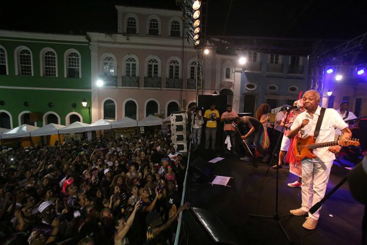 """Gilberto Gil (foto) e o """"mano"""" Caetano fizeram bonito - Foto: Adilton Venegeroles l Ag. A TARDE"""